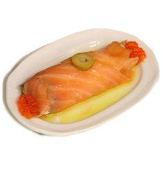 salmón Pincho Bar Fitero - Estafeta - Pamplona