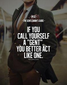 #beinggentleman