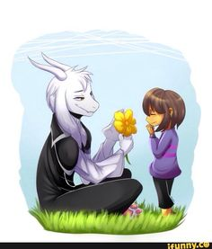 Undertale ~ Frisk and Asriel ♡
