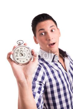 Young man worried about deadline and project end date. Manager, Time Is Money, Young Man, Pocket Watch, Accessories, Money, Guys, Youth, Pocket Watches