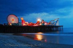 Jersey Shore Summer Fun Casino Pier in Seaside Heights, NJ. Jersey Girl, New Jersey, Kansas City Restaurants, Overland Park Kansas, Places To Travel, Places To Go, Seaside Park, Seaside Heights, Toms River