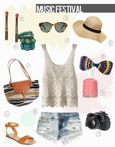 Calico skies: Style: Music Festival