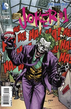 TomatoVision TV: DC made a big splash when they announced that September will be Villains Month! DC's most iconic villains--including the Joker, Bane, Poison Ivy, Lex Luthor, and more--hijack their best-selling titles for the month.  Plus, all 52 issues of DC Villains Month feature revolutionary 3D-motion lenticular covers--see Batman #23.1 Joker, pictured right--that will make these must-haves for collectors.