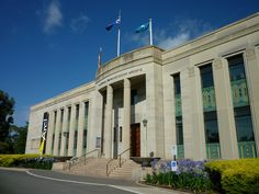 National Film and Sound Archive in Canberra, Australian Capital Territory. The 18 Most Haunted Places In Australia That You Can Actually Visit Places Around The World, Around The Worlds, Australian Capital Territory, Most Haunted Places, Melbourne Victoria, Who Runs The World, Old Buildings, Old Photos, Mansions