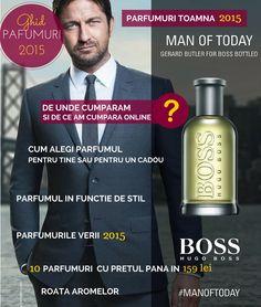 Boss Bottled, Gerard Butler, Mai, Hugo Boss, Blog, Fragrance