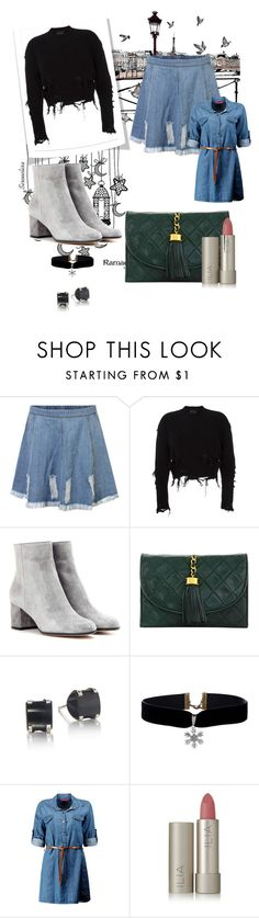 """""""Ripped"""" by sparklingpearl619 on Polyvore featuring adidas Originals, Gianvito Rossi, Chanel, Boohoo and Ilia"""