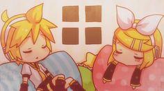 Rin and Len Kagamine -Vocaloid- Len Y Rin, Kagamine Rin And Len, Vocaloid, Angel Wallpaper, Iphone Wallpaper, Koi, Electric Angel, Pikachu, Pokemon