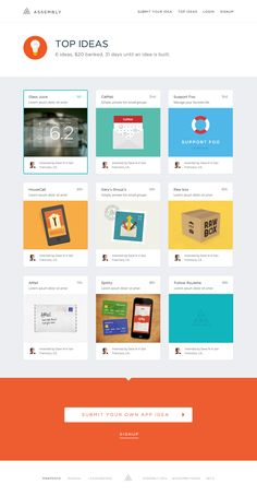 Assembly Pages, New-ideas-page by Oli Lisher