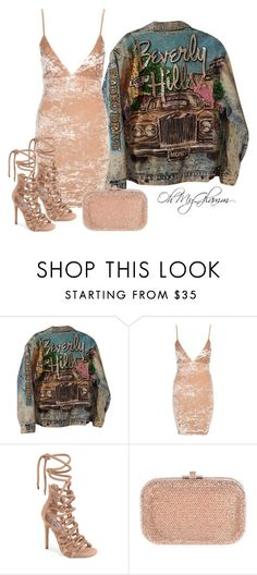 """""""Champagne Velvet"""" by maria-barragan on Polyvore featuring moda, Steve Madden y Judith Leiber"""