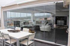 Veranda realizzata mediante impermeabilizzazione e copertura di ...