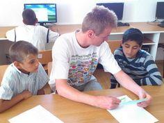 One on one care and mentoring makes the Centrul Curcubeu in Romania unique. Romania, Foundation, Rainbow, Education, Children, Unique, Rain Bow, Young Children, Rainbows
