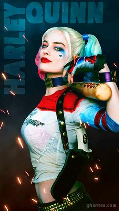Harley Quinn Wallpaper Mobile All In One Pinterest Harley