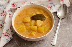 Egy finom Egyszerű krumplileves ebédre vagy vacsorára? Egyszerű krumplileves Receptek a Mindmegette.hu Recept gyűjteményében! Fondue, Thai Red Curry, Cantaloupe, Soup, Lunch, Cheese, Fruit, Ethnic Recipes, Decorating