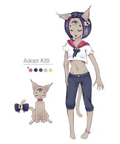 #020 - Adopt [CLOSED / AUCTION] by phob00