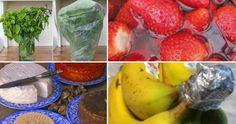 30 métodos para conservar alimentos MUCHO MÁS tiempo