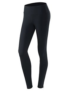 Yoga Reflex Womens Fitness Yoga Running Sports Workout Pants Hidden Pocket  Navy  Large *** Find out more about the great product at the affiliate link Amazon.com on image.