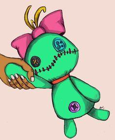 lilo and stitch voodoo doll friends scene