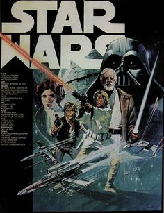 Star Wars (1977) movie poster print 115