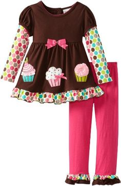 Rare Editions Girls 2-6X Cupcake Applique Leg Set, Brown/Fuchsia, 5 Rare Editions,http://www.amazon.com/dp/B00DPEHOR0/ref=cm_sw_r_pi_dp_hOCwsb14D0QPSDZ2