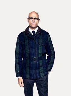 I'm sure there's a part of me that has chosen the stuff that I've chosen because I want to work as an actor. Bald With Beard, Bald Men, Uk Actors, Actors & Actresses, Merlin Kingsman, Mark Strong, Modus Operandi, I Want To Work, Handsome Boys