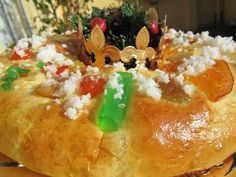 Roscón de Reyes con masa madre con Thermomix