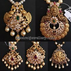 Latest Collection of best Indian Jewellery Designs. Gold Jewellery Design, Gold Jewelry, Beaded Jewelry, Handmade Jewelry, Diamond Jewelry, Ruby Jewelry, Ear Jewelry, Antique Jewellery, Pendant Jewelry