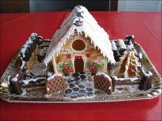 Casetta Di Natale Con Biscotti : Casetta di pan di zenzero gingerbread biscotti and