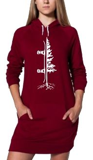 The Dress Hoodie - Snowboarding inspired apparel