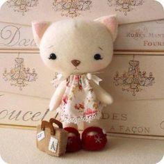 Diy pensierini: le dolci gattine di feltro
