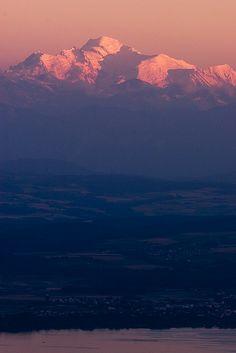 Imposant Mont-Blanc - Depuis le Jura Vaudois