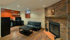 7017 Hickling Crescent #Mississauga - #Meadowvale Finished Basement with Wood Burning Fireplace www.robkelly.ca