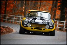 Fiat 124 Abarth 1975, this car just saw a ghost.