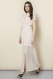FG-4 Light Pink Rowna Maxi Dress