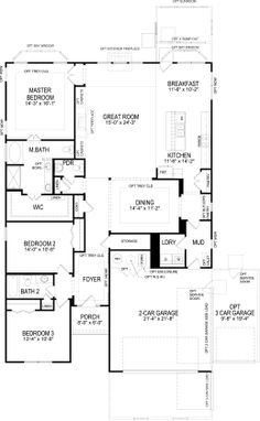 1000 Images About Home Design Blueprints On Pinterest