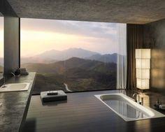 baños modernos y lujosos...