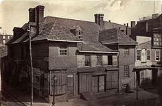 John Moran, Slate Roof House 2nd above Walnut. No date