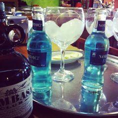 Mombasa with blue tonic