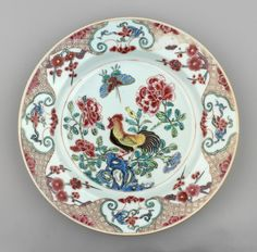 Jingdezhen Porcelain (Jiangxi Province, China) —  Plate, c.1730-1750 : Royal Collection Trust, Her Majesty Queen Elizabeth II, UK  (2000x1974)