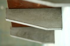 "Large Concrete 9.5"" Shelf Brackets"