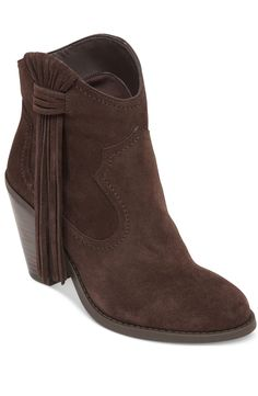 The fringe trend is gaining momentum this season, but that doesn't mean it has to be swinging from every part of your clothing. A touch of fringe like these boots will do the trick.  $88.99, Macy's.   - Redbook.com