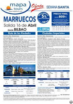 Marruecos Semana Santa salida Bilbao 16 Abril **Precio Final desde 809** ultimo minuto - http://zocotours.com/marruecos-semana-santa-salida-bilbao-16-abril-precio-final-desde-809-ultimo-minuto-2/
