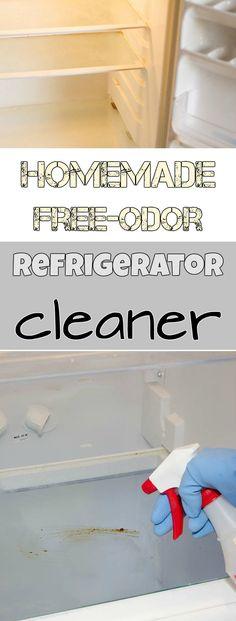 Homemade free odor refrigerator cleaner - Cleaning Tips Deep Cleaning Tips, House Cleaning Tips, Cleaning Solutions, Spring Cleaning, Cleaning Hacks, Cleaning Supplies, Cleaning Routines, Cleaning Products, Homemade Toilet Cleaner
