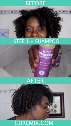 Watch this! Yes, you can do a Wash + Go, even if you have 4C Hair! Learn all the secrets to getting your BEST Wash + Go EVER in just 4 easy steps! We aren't kidding. Get the 100% FREE E-book to learn how.