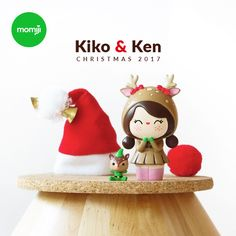 NEW! Christmas 2017!  Limited Edition 1750 pieces.  Meet Kiko & Ken