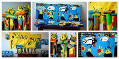 Por fin!! Traballo rematado. Os alumnos/as de 6ºA de Ed. Infantil recolleron os seus cadros e as esculturas expostas no museo do cole, que...
