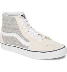 Vans UA Sk8-Hi Herringbone Sneaker (Women) | Nordstrom Vans Sneakers, High Top Sneakers, Uncommon Gifts, Nordstrom Gifts, Sk8 Hi, Vans Sk8, Up Styles, Herringbone