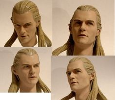 Legolas. Paint by me. Sculpt by Darren Carnall. www.customikey.weebly.com