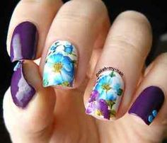 FULL-FLOWER-BUTTERFLY-Water-Transfer-Nail-Decals-stickers-nailart
