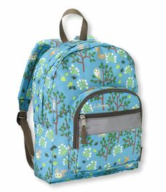 L.L.Bean makes backpacks that are built to last ... love a company that still bases its products on quality craftsmanship and not catchy gimmicks. Digging the woodland owl theme too
