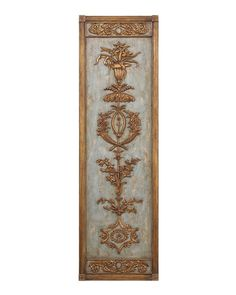 Hand-Carved Wood Panel I - Wall Decor - Mirrors & Wall Decor - Our Products